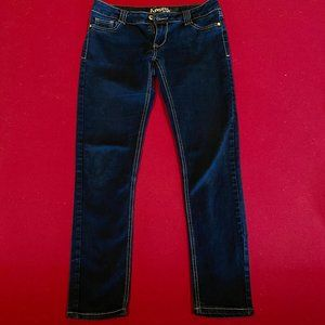 Angels Jeans Dark Blue Low Rise Sz. 7